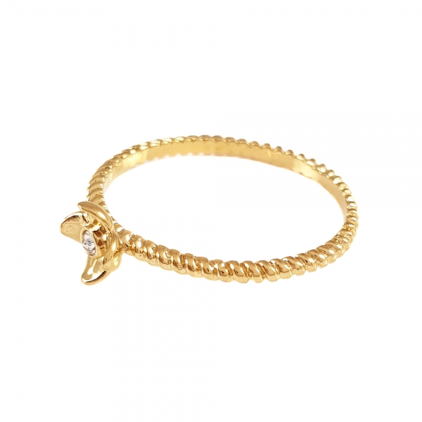 Inel de logodna placat cu aur SaraTremo