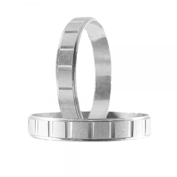 Inel tip verigheta argint SaraTremo 0