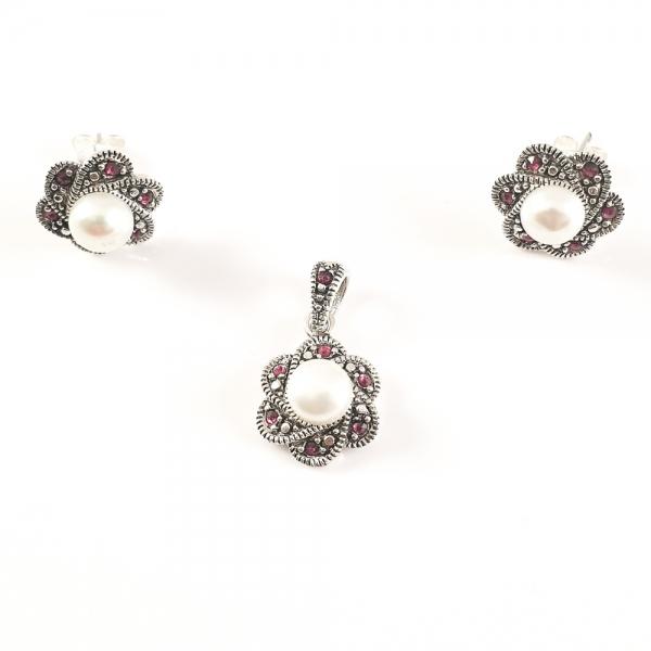 Set bijuterii argint SaraTremo