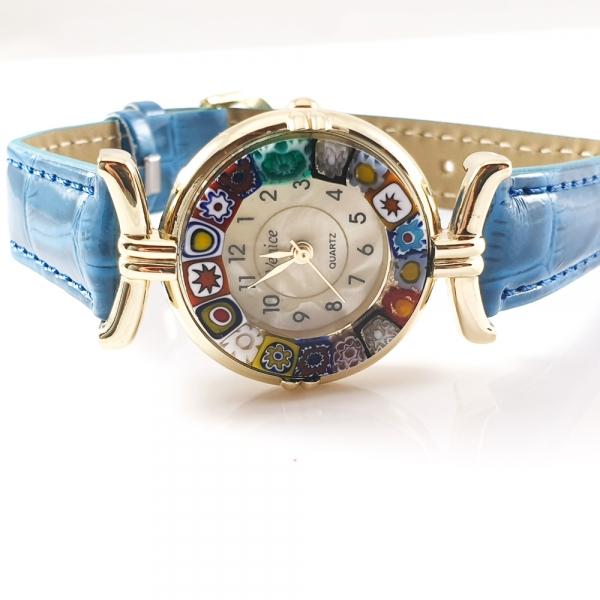 Ceas cu sticla de Murano 1