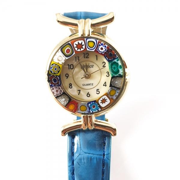 Ceas cu sticla de Murano 2