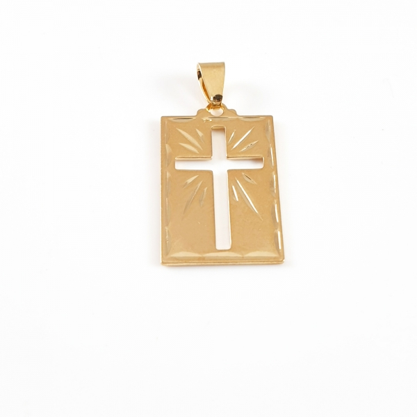 Cruciulita placata cu aur SaraTremo