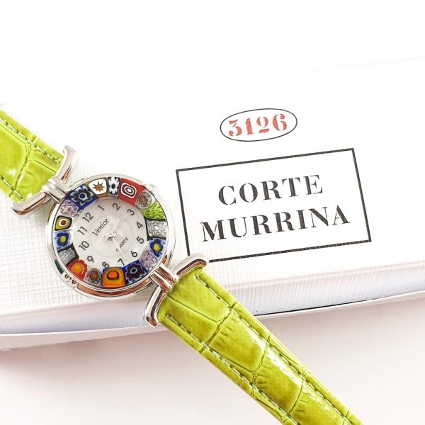 Ceas cu sticla de Murano 0