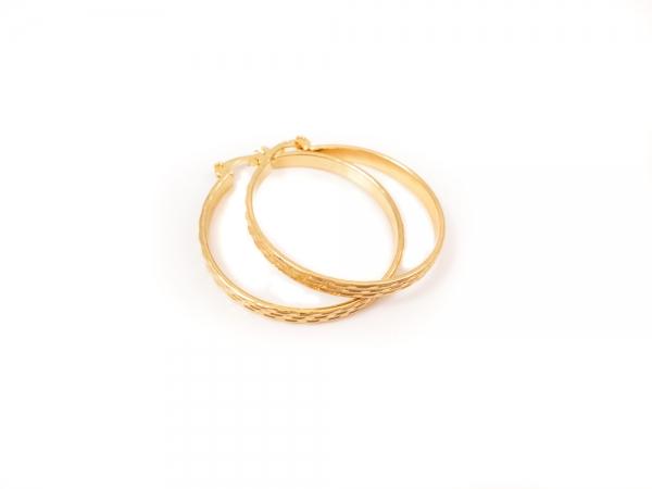 Cercei placati cu aur SaraTremo
