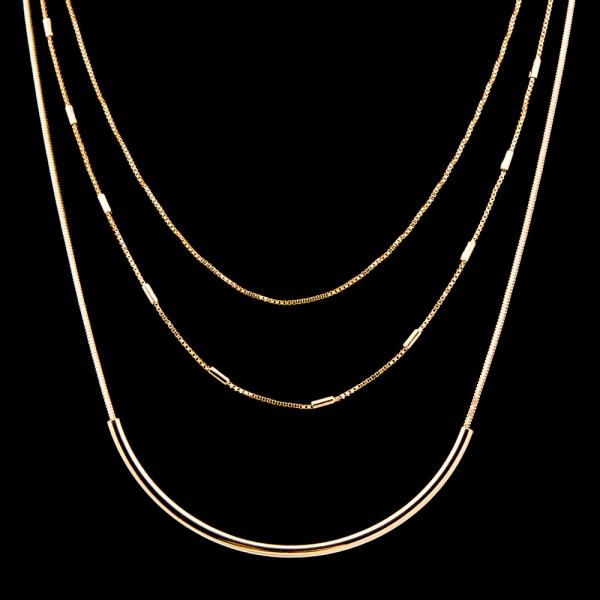 Colier placat cu aur de 18 K My Precious 1