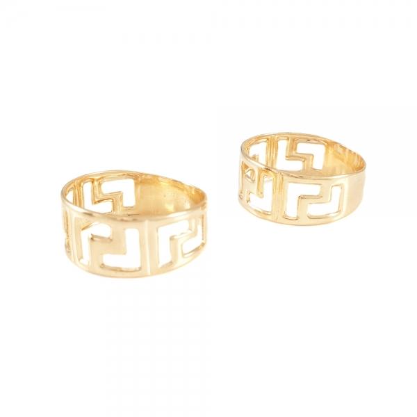 Inel placat cu aur marca SaraTremo 0