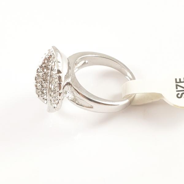 Inel placat cu aur alb SaraTremo 2