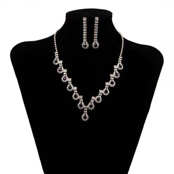 Set bijuterii cu strasuri Burning Trend by SaraTremo 0