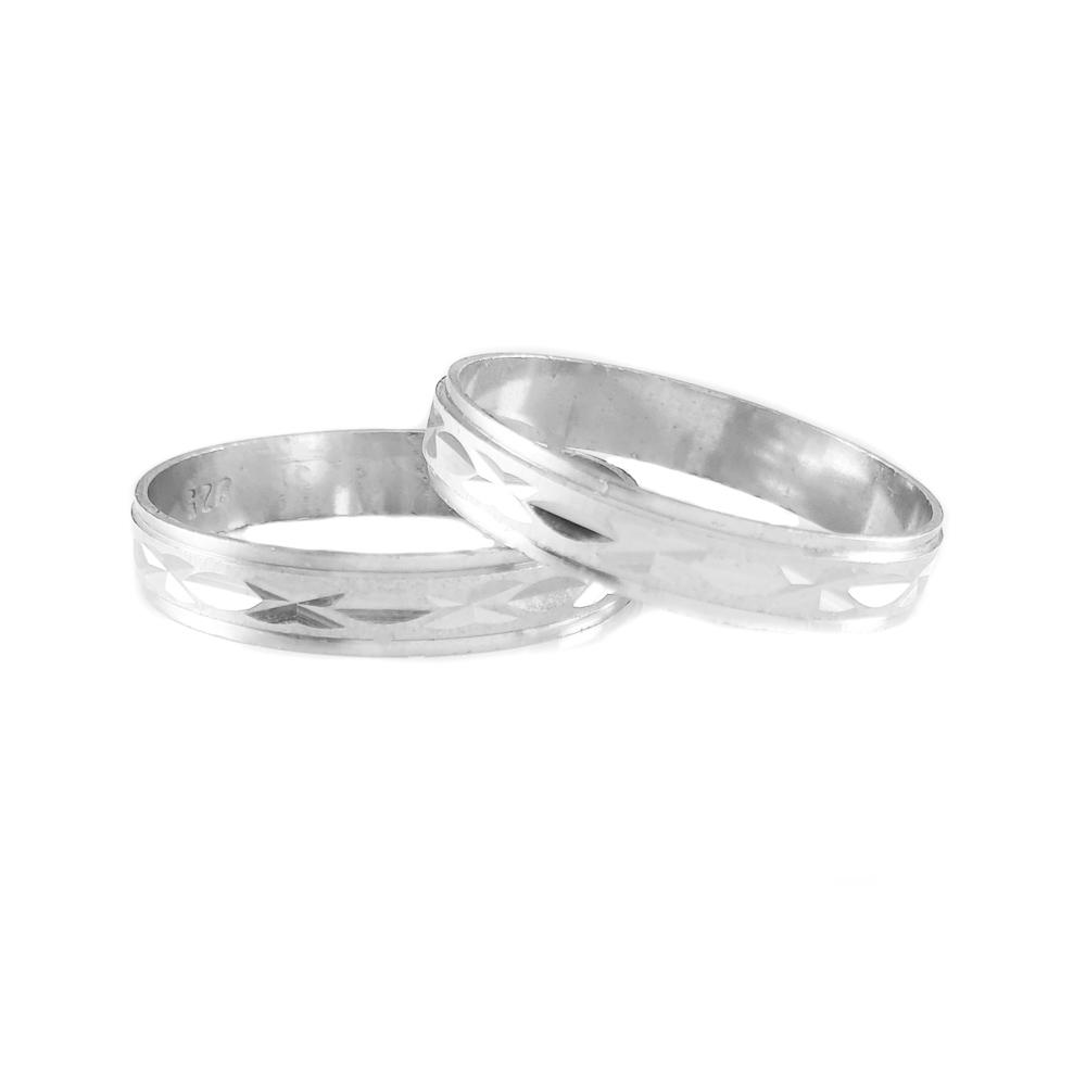Inel Tip Verigheta Argint Saratremo