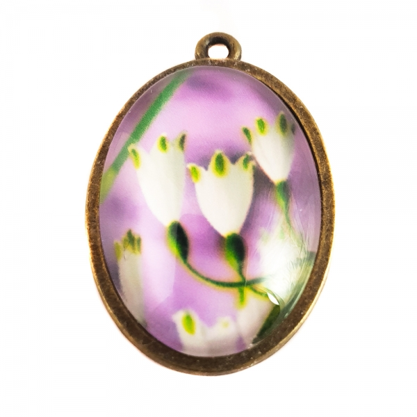 Pandantiv floral