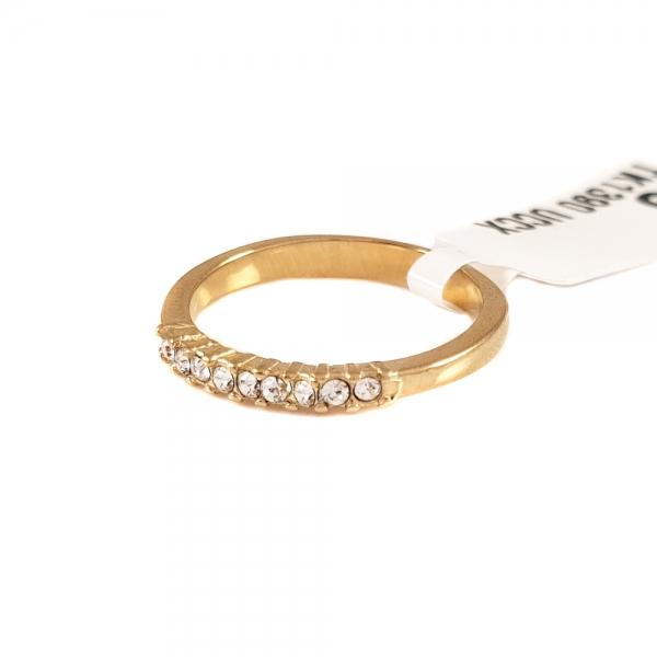 Inel de logodna placat cu aur Rock Shine