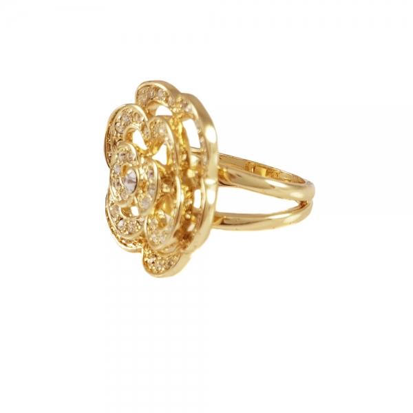 Inel placat cu aur Class by SaraTremo