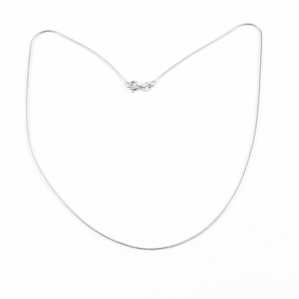 Lantisor 40-50 cm din argint rodiat Bounce