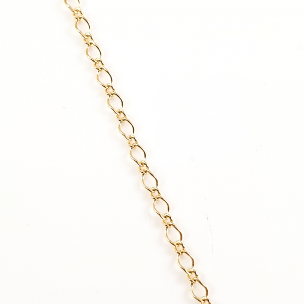 Lantisor 45 cm placat cu aur Permission
