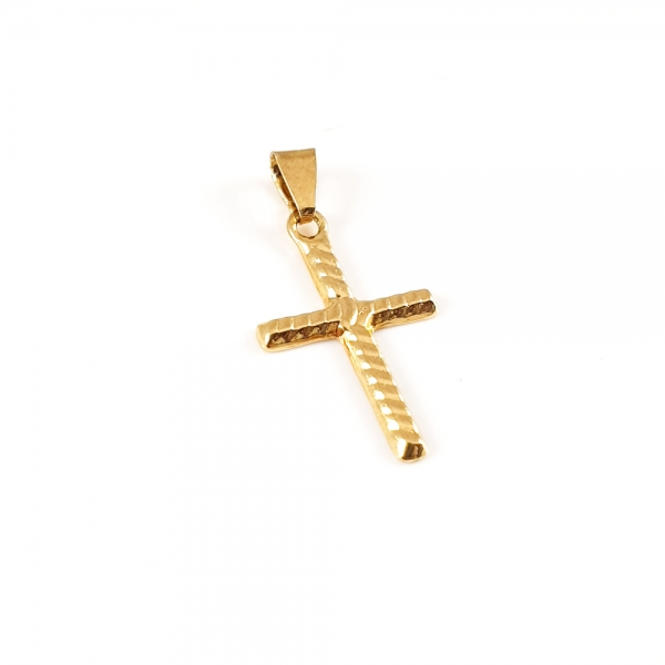 Cruciulita placata cu aur Anathema