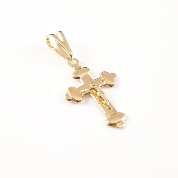 Cruciulita placata cu aur Abraham