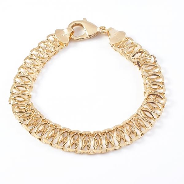 Bratara luxury placata cu aur Cellia
