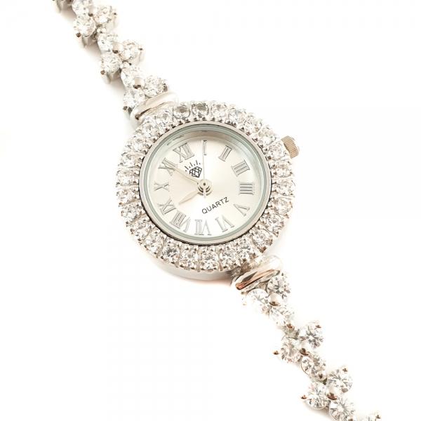 Ceas din argint masiv Snow White by SaraTremo