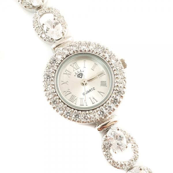 Ceas din argint masiv Dialect by SaraTremo