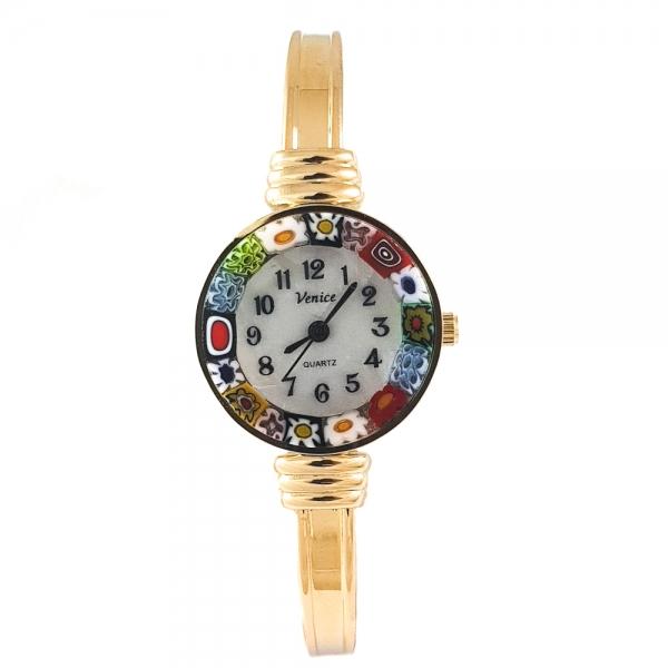 Ceas Venice Luxury din Sticla de Murano