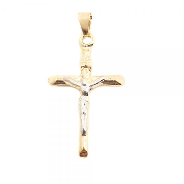 Cruciulita placata cu aur Lucio