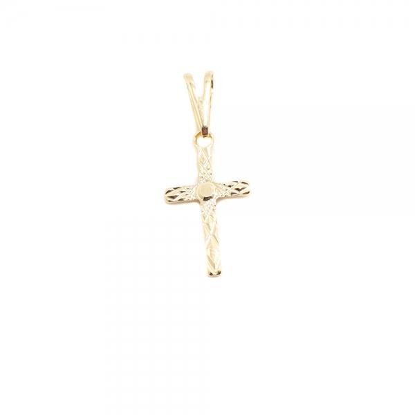 Cruciulita placata cu aur Stretto
