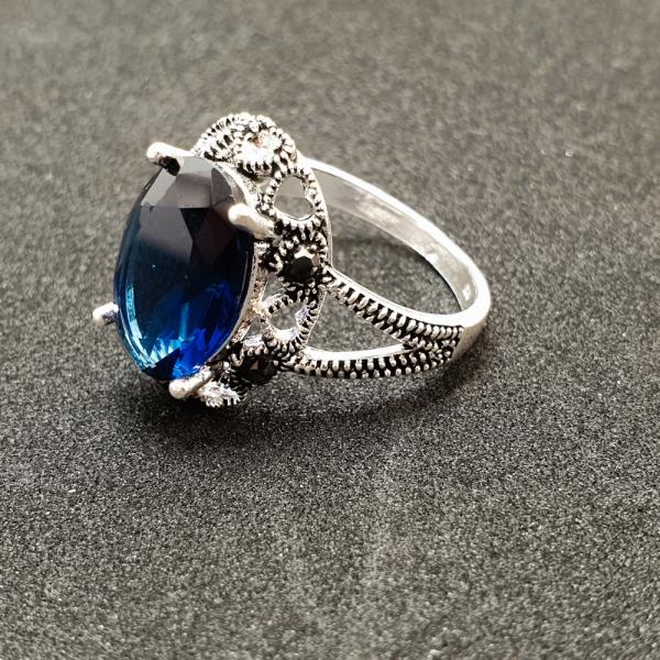 Inel din argint Sapphire