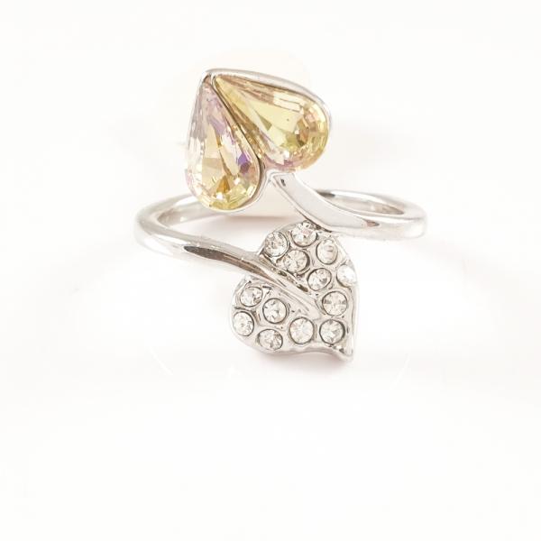 Inel placat cu aur alb Aracely