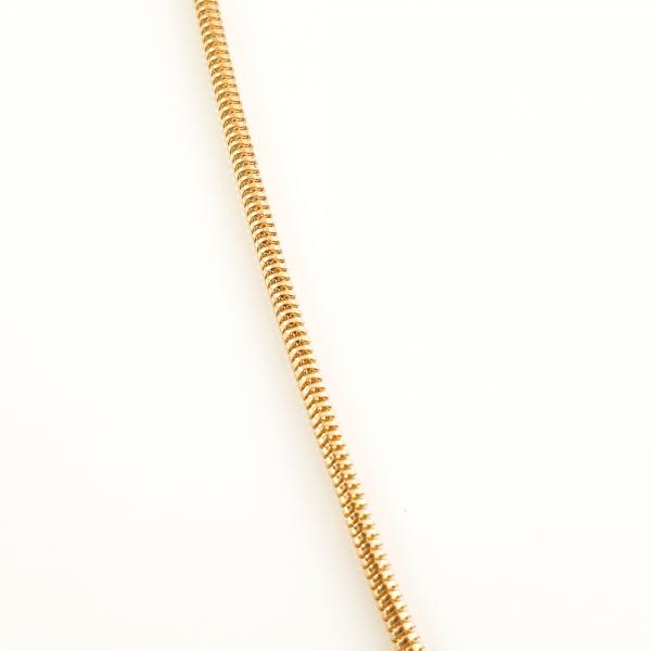 Lantisor 44 cm placat cu aur Alycia