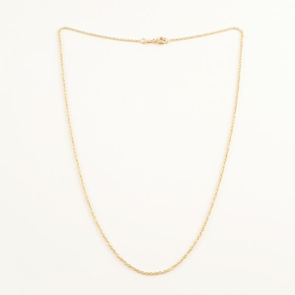 Lantisor 44-50 cm placat cu aur Kim