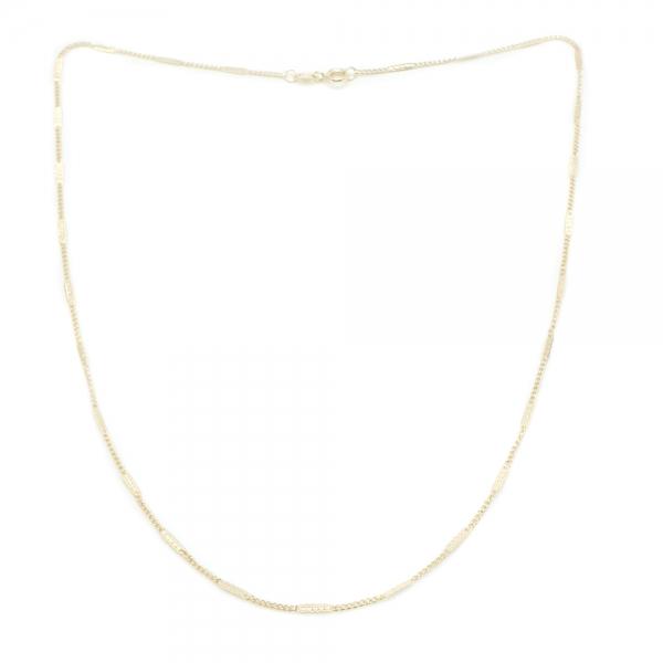 Lantisor 50 cm placat cu aur Ray