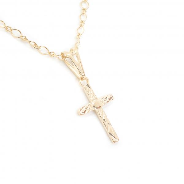 Lantisor si cruciulita placate cu aur Santa Maria