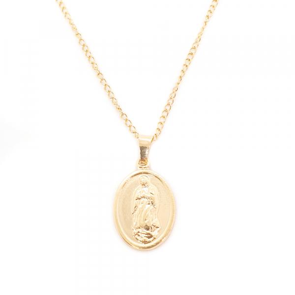 Lantisor si iconita placate cu aur Aeros
