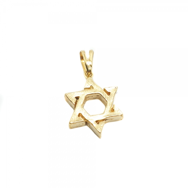 Medalion placat cu aur David