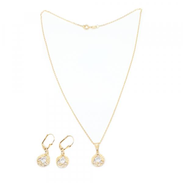 Set bijuterii placate cu aur Prevvo