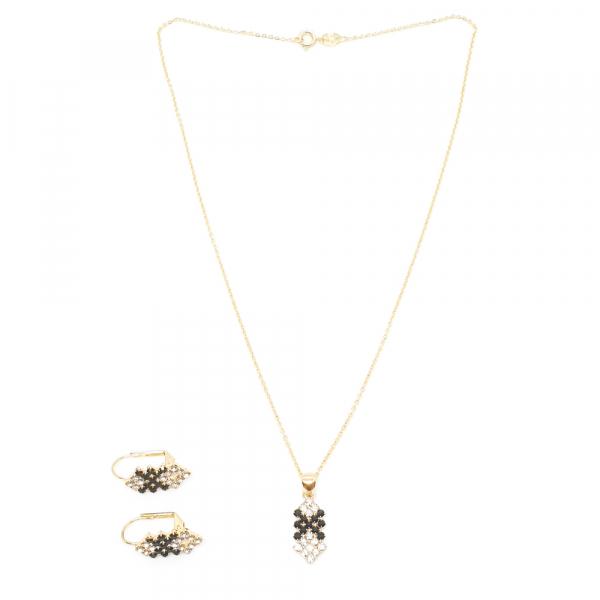 Set bijuterii placate cu aur Predicto