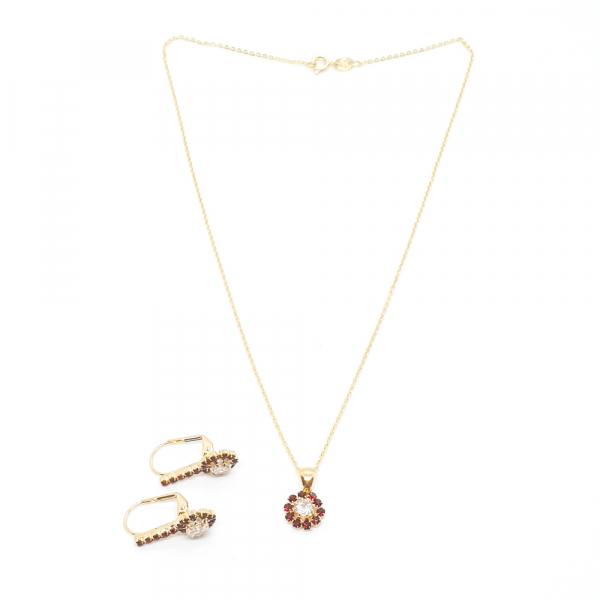 Set bijuterii placate cu aur Pretty Woman
